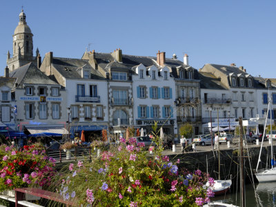 Yachting and Fishing Port, Le Croisic, Brittany, France, Europe Photographic Print by Groenendijk Peter