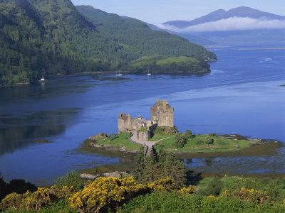 Eilean Donan Castle, Highlands, Scotland, United Kingdom, Europe Photographic Print by Groenendijk Peter