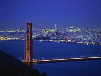 Golden Gate Bridge, San Francisco, California, United States of America, North America Photographic Print