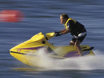 Jet Skier Photographic Print
