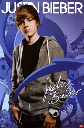 justin bieber black and white poster. Justin Bieber Poster