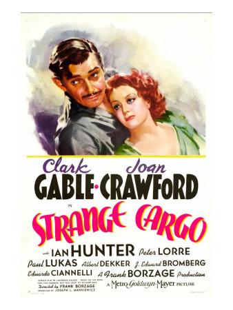 Strange Cargo, Clark Gable, Joan Crawford, 1940 Photo
