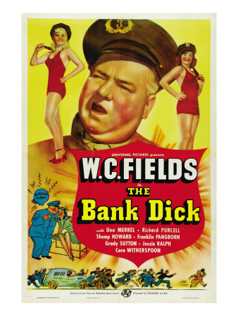 The Bank Dick, W.C. Fields, 1940 Photo