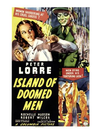 Island of Doomed Men, Rochelle Hudson, Peter Lorre, 1940 Photo