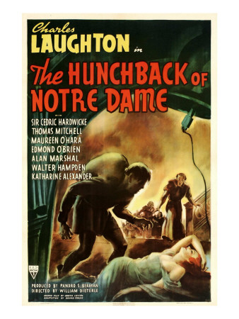 The Hunchback of Notre Dame, 1939, Poster Art Photo