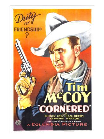Cornered, Tim Mccoy, 1932 Photo