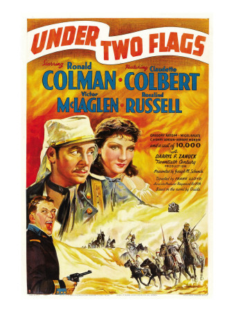 Under Two Flags, 1936 Premium Poster