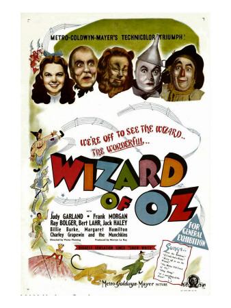 The Wizard of Oz, Judy Garland, Frank Morgan, 1939 Photo