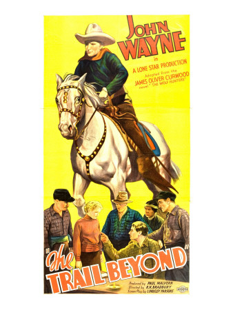 The Trail Beyond, John Wayne, 1934 Photo