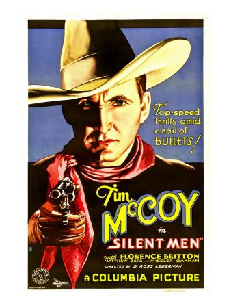 Silent Men, Tim Mccoy, 1933 Photo