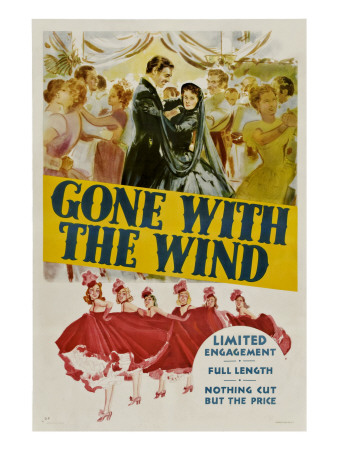 Gone with the Wind, Clark Gable, Vivien Leigh, 1939 Photo