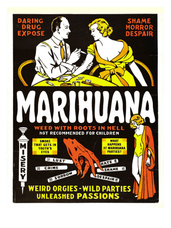 Marihuana, (Aka Marihuana, the Weed with Roots in Hell!), 1936 Premium Poster