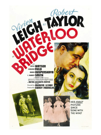 Waterloo Bridge, 1940 Photo