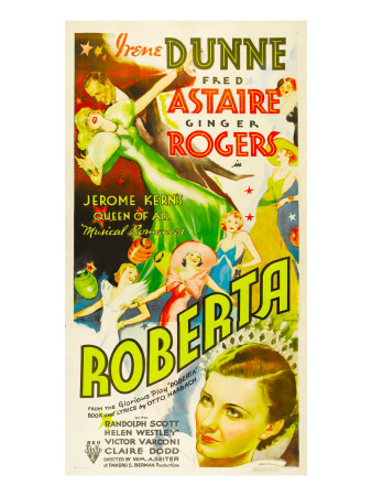 Roberta, Ginger Rogers, Fred Astaire, Irene Dunne, 1935 Photo