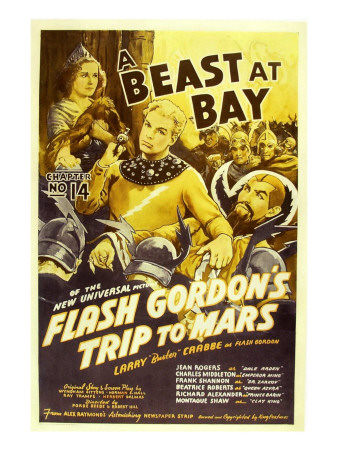 Flash Gordon's Trip to Mars, Larry 'Buster' Crabbe, 1938 Premium Poster