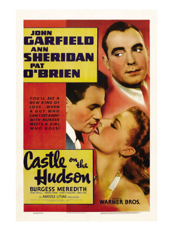 Castle on the Hudson, Pat O'Brien, John Garfield, Ann Sheridan, 1940 Photo