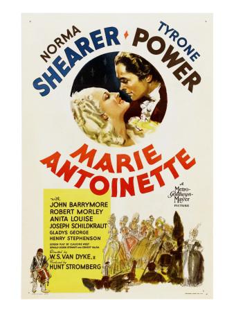 Marie Antoinette, Norma Shearer, Tyrone Power, 1938 Photo