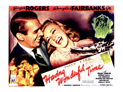Having a Wonderful Time, Douglas Fairbanks Jr., Ginger Rogers, 1938 Photo