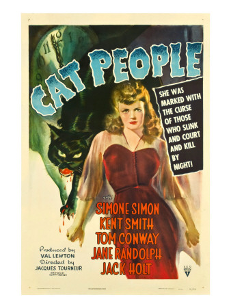 Cat People, Simone Simon, 1942 Photo