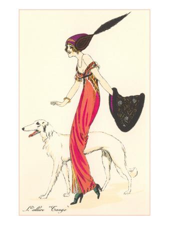 French Fashion, Borzoi Prints