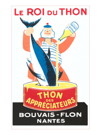 French King of Tuna, Graphics Posters