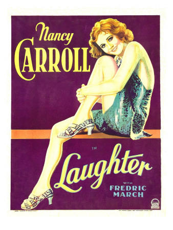 Laughter, Nancy Carroll on Window Card, 1930 Photo