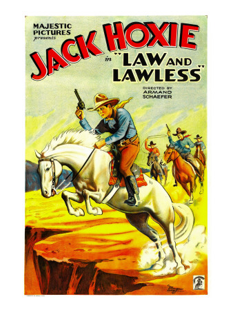 Law and Lawless, Jack Hoxie, 1932 Photo