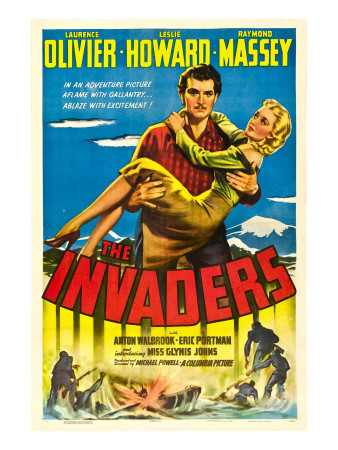 The Invaders (Aka 49th Parallel), Laurence Olivier, Glynis Johns, 1941 Foto