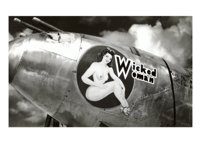 Nose Art, Wicked Woman Pin-Up Posters