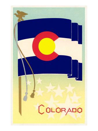Flag of Colorado Art