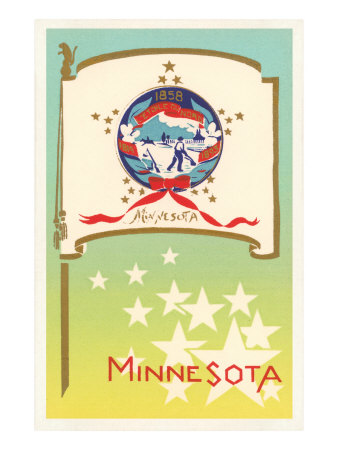 Flag of Minnesota Art