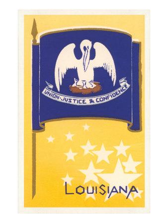 Flag of Louisiana Prints