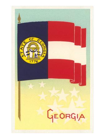Flag of Georgia Print