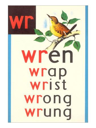 WR for Wren Kunsttryk