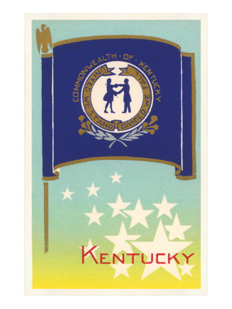 Flag of Kentucky Posters