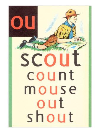 OU in Scout Kunsttryk