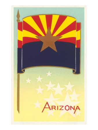 Flag of Arizona Posters
