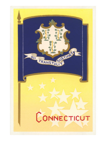 Connecticut State Flag Posters