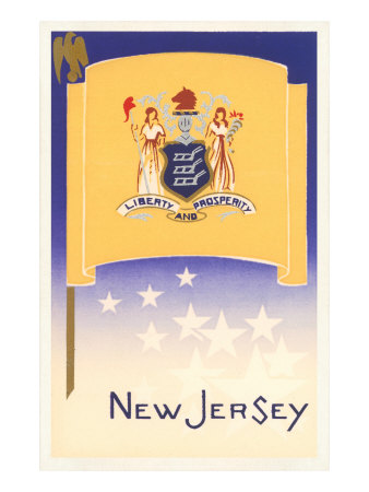 Flag of New Jersey Posters