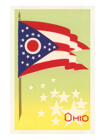 Flag of Ohio Posters