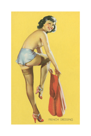 French Dressing, Pinup Premium Poster