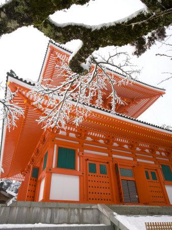 Koyasan Temple in Japan travel destinations 2015 photo poster by Gavriel Jecan