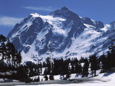 Mt. Shuksan, North Cascades National Park, Washington, USA Photographic Print by Charles Gurche