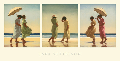 Summer Days Posters by Jack Vettriano