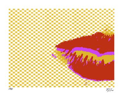 Kiss Kiss I Giclée-tryk