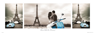 Paris, City of Love Print