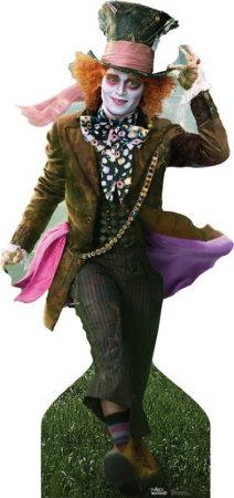 Alice In Wonderland - Mad Hatter Cardboard Cutouts