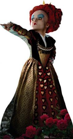Alice In Wonderland - Red Queen Cardboard Cutouts