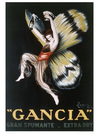 Gancia, Gran Spumenta Giclee Print by Leonetto Cappiello