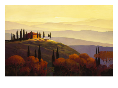 Tuscan Sunrise Giclee Print by Max Hayslette